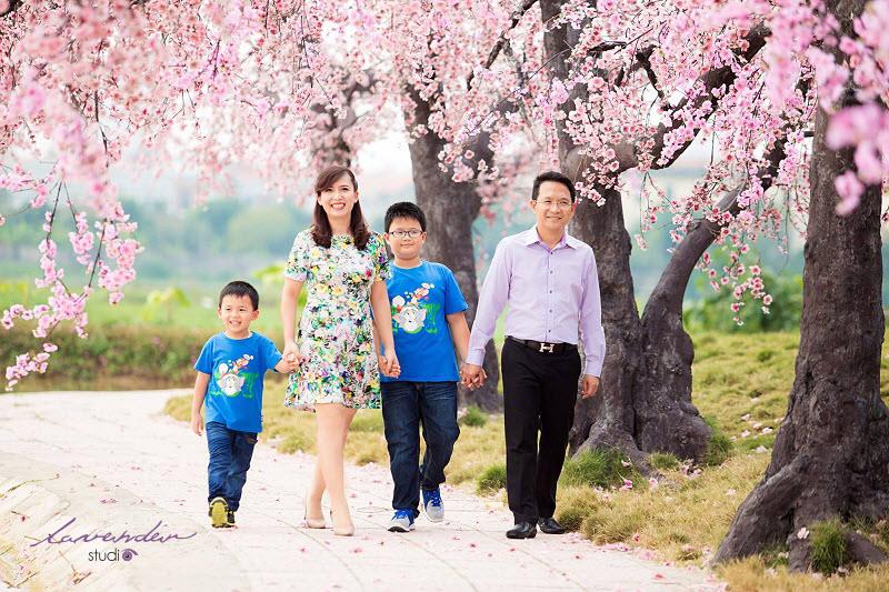 lavender studio - Chụp hình đại gia đình ngày tết, mang sắc xuân ấm áp đến mọi nhà 1