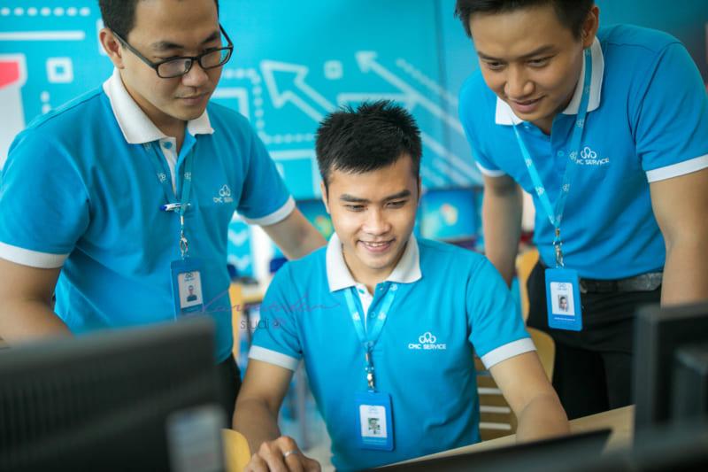 chụp hình doanh nghiệp CMC Service