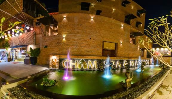 Chụp hình panorama spa