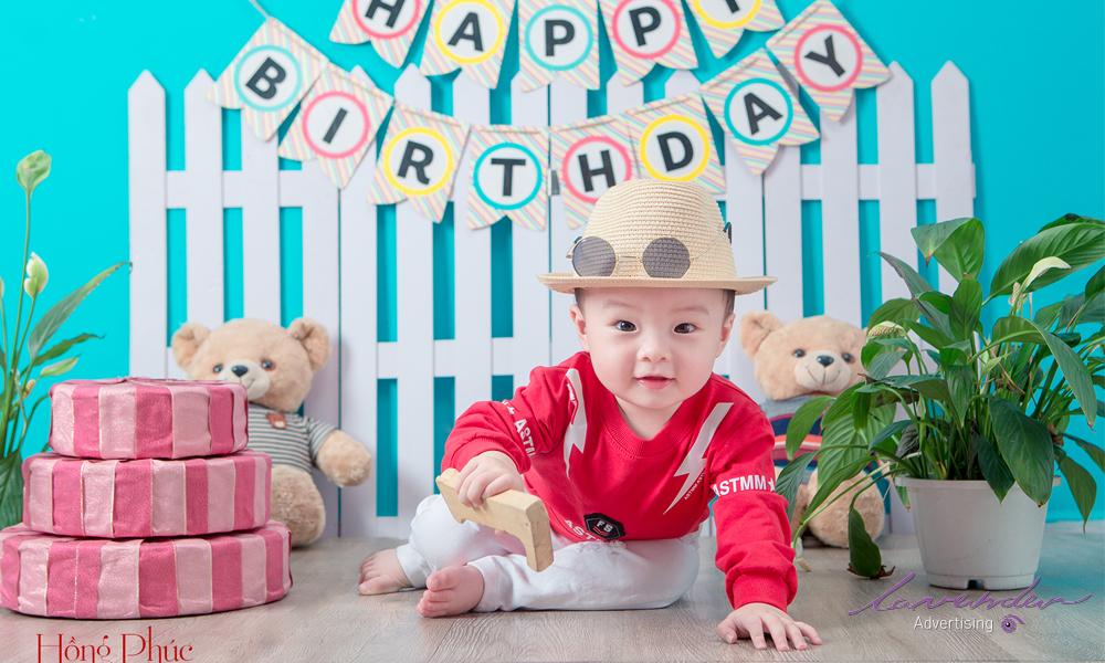 Chụp hình sinh nhật cho bé tphcm