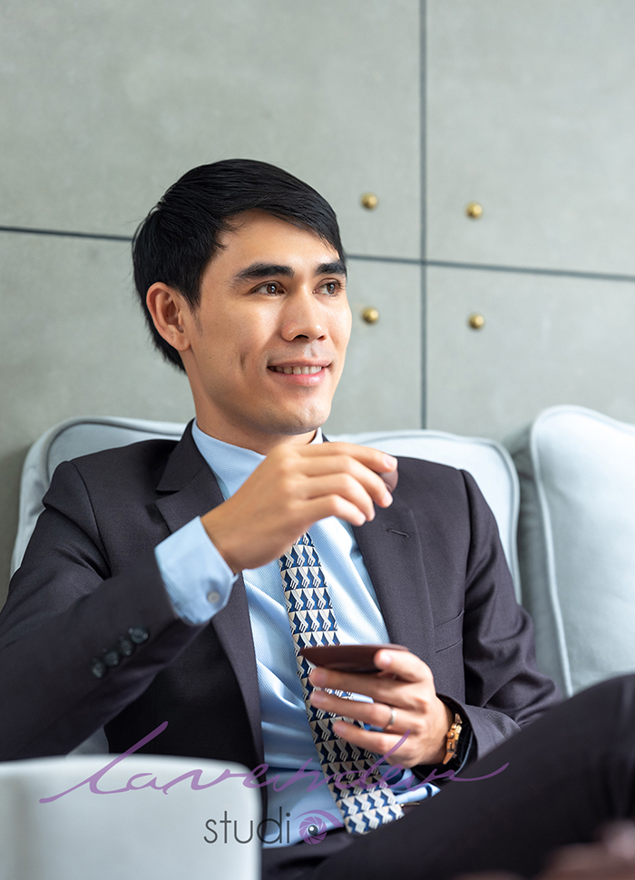 chụp hình doanh nhân tại Đà lạt