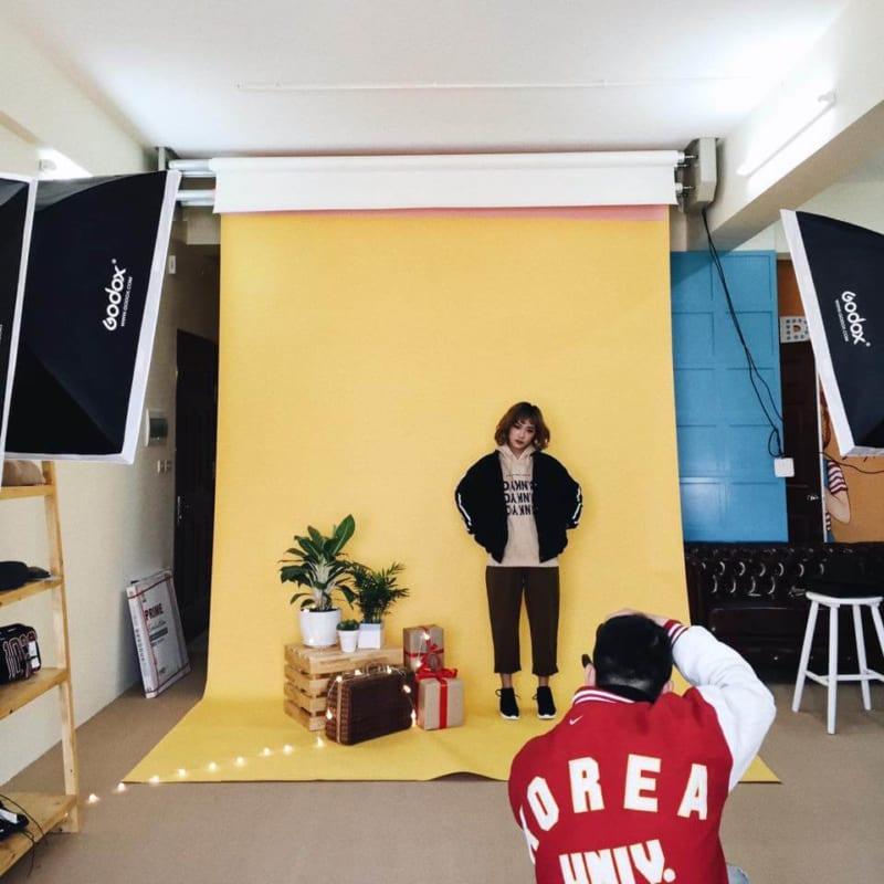 chụp hình sản phẩm quần áo 2