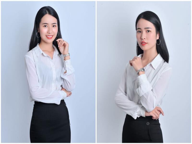 Trang phục phù hợp, kiểu tóc và trang điểm nhẹ nhàng sẽ giúp bạn có được bức ảnh profile đẹp